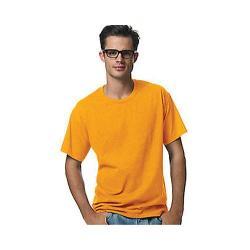 Men's Hanes ComfortBlend 5.2 oz EcoSmart T-Shirt (6 Pack) Gold