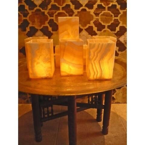 Handmade Flameless Votive, Set of 6 (Egypt)