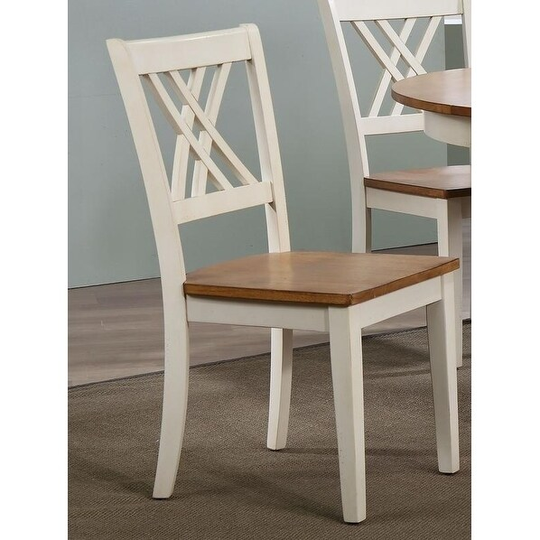Iconic Furniture Double X Back Dining Chair Caramel Biscotti Free Shipping Today 20102275