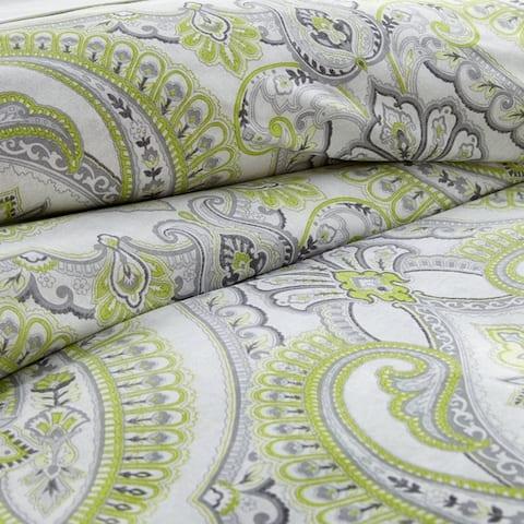 Vilano Plush All Seasons Pure Melody Paisley Down Alternative 3-piece Comforter