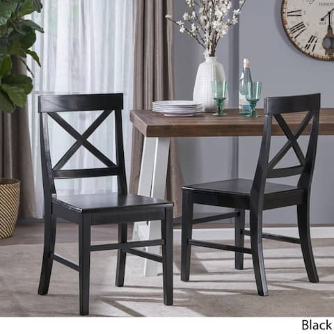 Buy Black Kitchen & Dining Room Chairs Online at Overstock ...