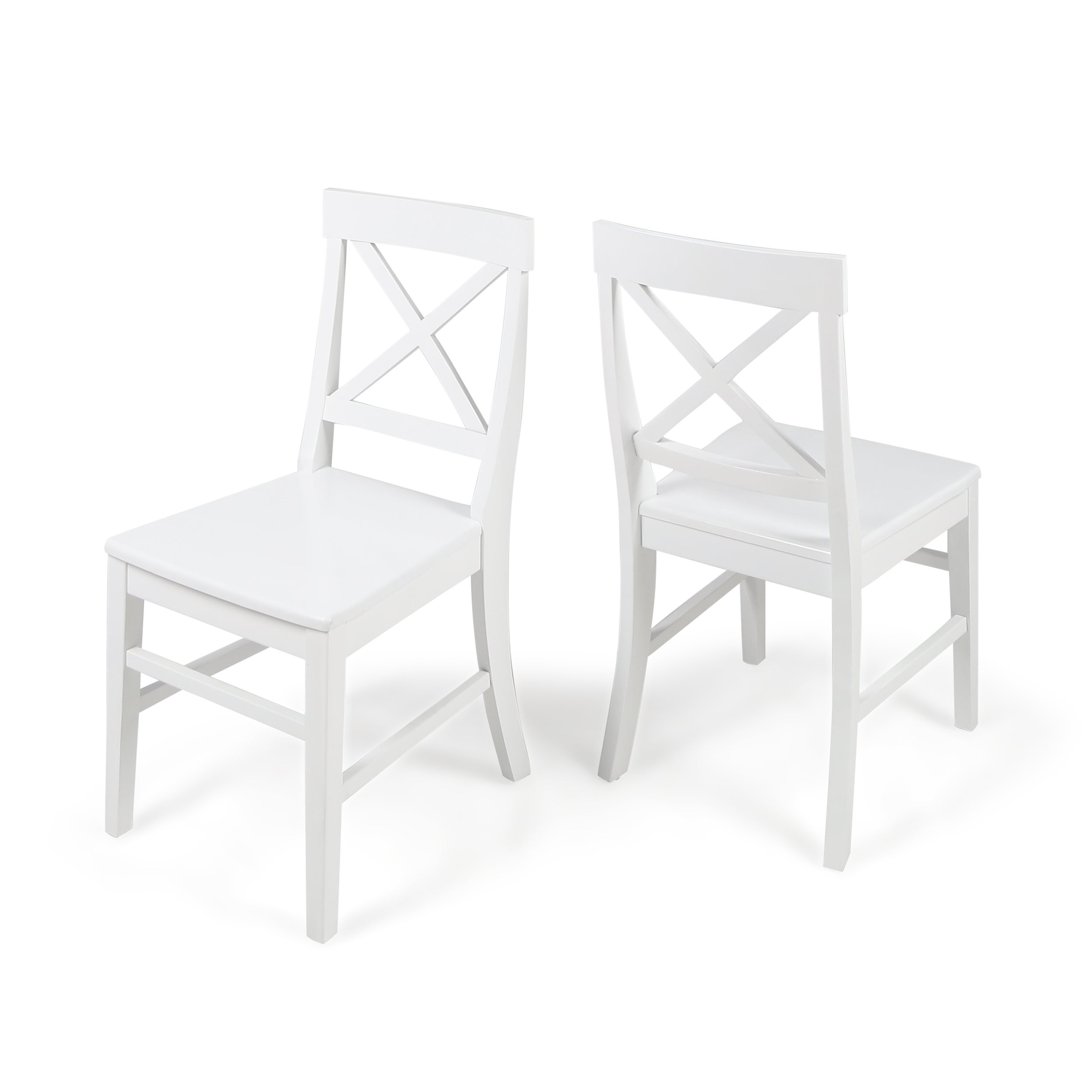 White Wood Kitchen Dining Room Chairs For Less Overstockcom
