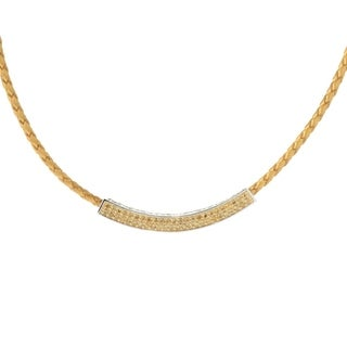 Sterling Silver 1.56ctw Citrine Necklace 18'L - Yellow