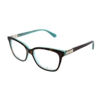 9c18db3126 Kate Spade Square KS Jorja FZL Women Havana Turquoise Frame Eyeglasses