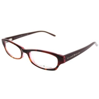Kate Spade Rectangle KS Twyla JME Women Tortoise Rose Frame Eyeglasses