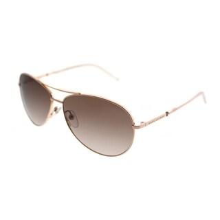 Marc Jacobs Aviator Marc 59 WM4 JD Unisex Gold Copper Frame Brown Gradient Lens Sunglasses