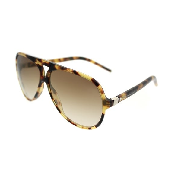 29a440c03ff6 Marc Jacobs Aviator Marc 70 00F Unisex Spotted Havana Frame Brown Gradient  Lens Sunglasses