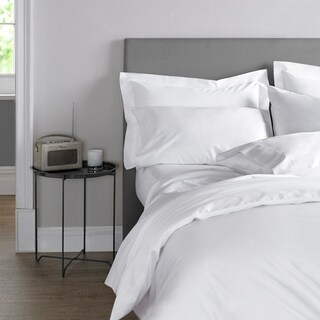 Blanc De Blanc Cashmere/Cotton 400 Thread Count Duvet Cover Set