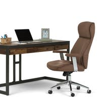 WYNDENHALL Candace Modern Swivel Office Chair
