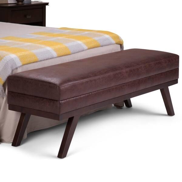 Awesome Shop Wyndenhall Bryanna 60 Inch Wide Mid Century Modern Unemploymentrelief Wooden Chair Designs For Living Room Unemploymentrelieforg