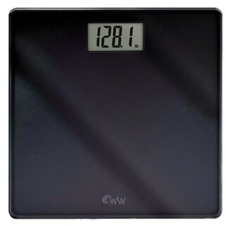 Conair WW58B Inspirational Glass Digital Scale Black