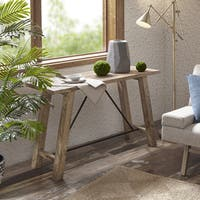 INK+IVY Sonoma Natural Console Table