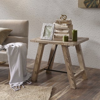 INK+IVY Sonoma Natural End Table