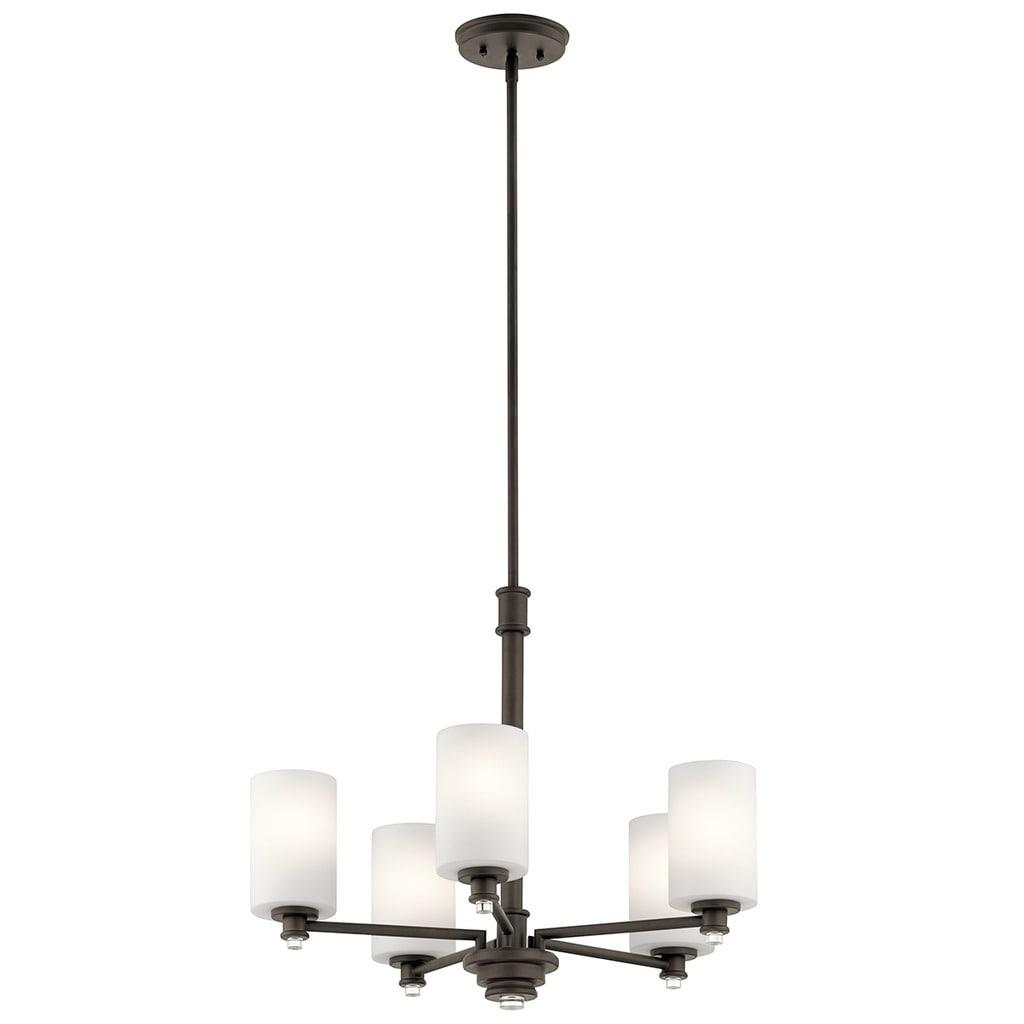 Clay Alder Home 5-light Olde Bronze LED Chandelier