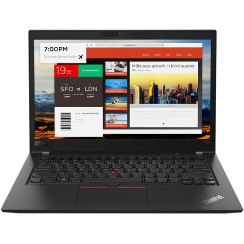 "Lenovo ThinkPad T480s 20L70025US 14"" Notebook - 1920 x 1080 - Core i7 i7-8650U - 8 GB RAM - 256 GB SSD"
