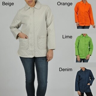 Women's Quilted Denim Jacket (4 options available)
