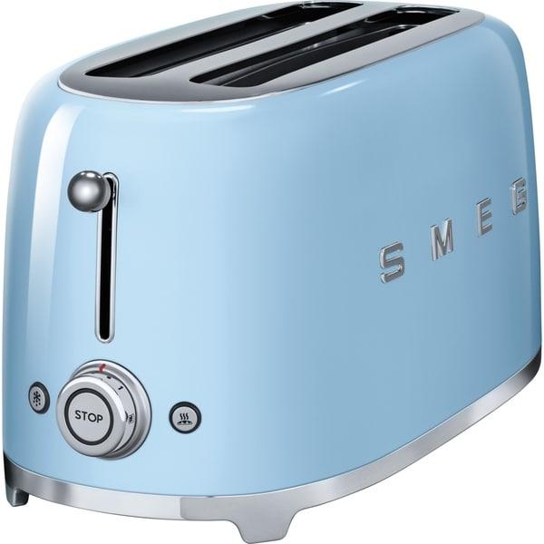 SMEG 4-Slice Toaster Pastel Blue