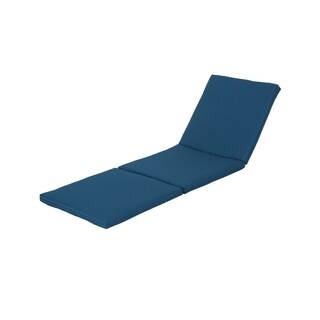 Jamaica Outdoor Weather Resistant Chaise Lounge Cushion by Christopher Knight Home