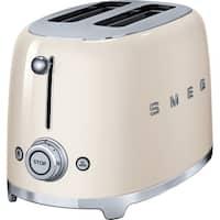 SMEG 2-Slice Toaster Cream
