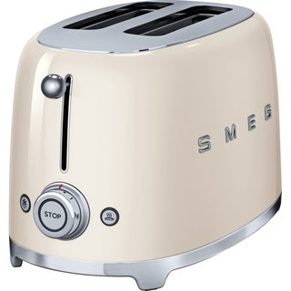 SMEG 2-Slice Toaster Cream