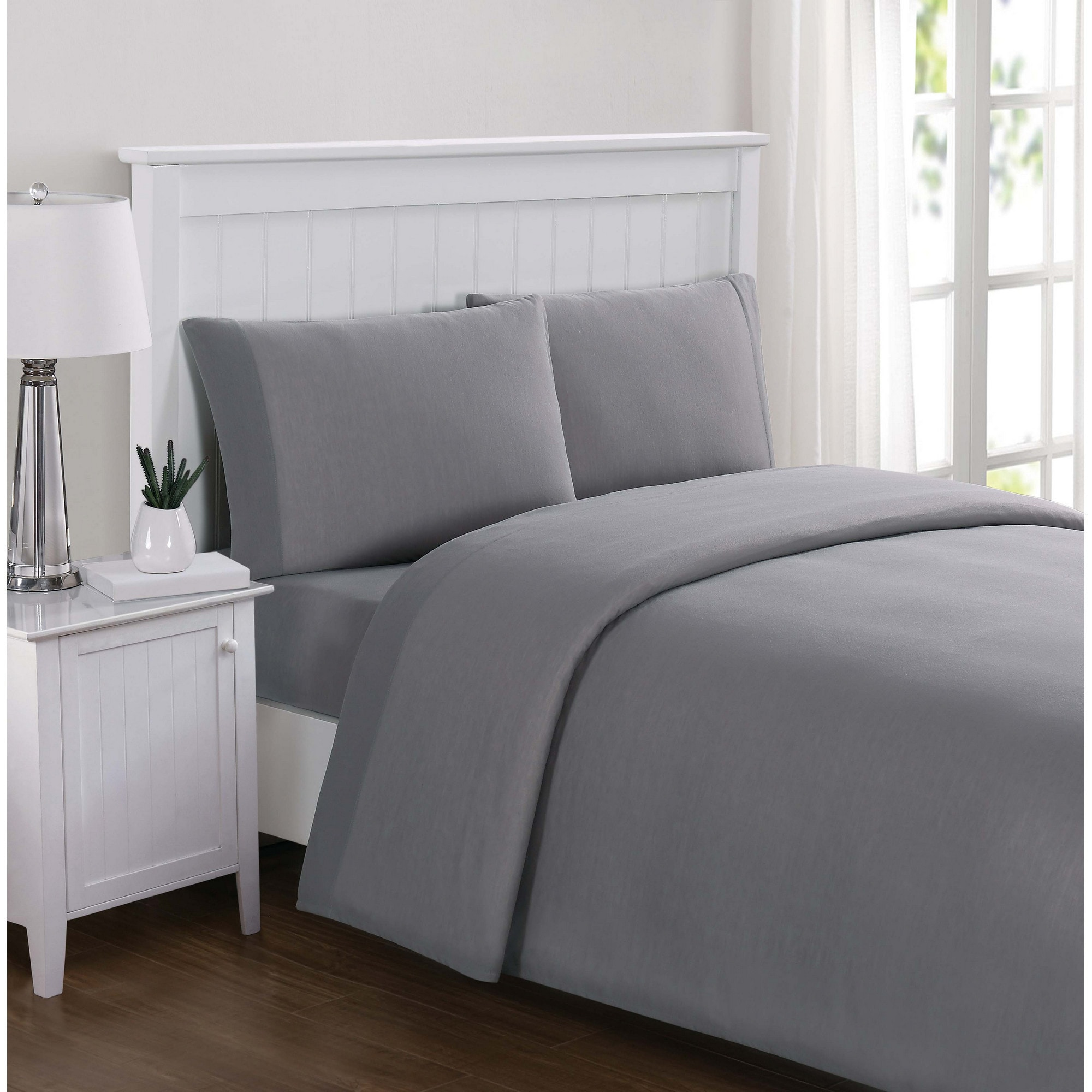 Truly Soft Everyday Solid Jersey Sheet Sets Free Shipping On Orders Over 45 20105087