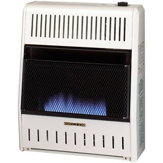ProCom Dual Fuel Ventless Blue Flame Heater - 20,000 BTU, Model# MNSD200TBA