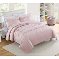 VCNY Home Penelope Geomtric Quilt Set