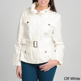 Women's 'Nepal' Riveted Military Style Jacket
