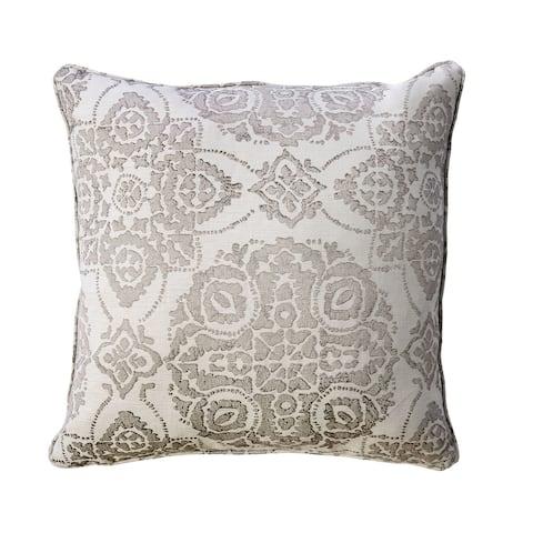 Furniture of America Eva Contemporary Grey Throw Pillows Set of 2