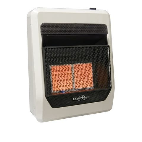 Lost River Dual Fuel Ventless Infrared Radiant Plaque Heater - 20,000 BTU, Model# PCI2TIR