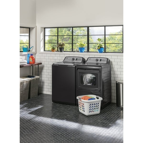 Shop Ge 27 Inch Gas Dryer And Top Load Washer Set Free