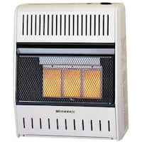 Procom ML150HPA Ventless LP Gas Wall Heater - 3 Plaque, 15,000 BTU, Manual Control