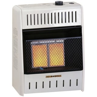 ProCom Dual Fuel Ventless Infrared Plaque Heater - 10,000 BTU, Model# MNSD2TPA