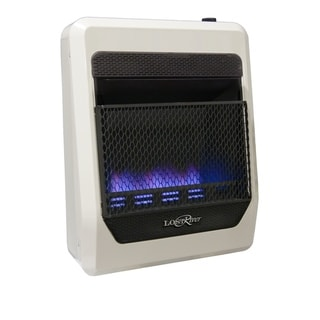 Lost River Dual Fuel Ventless Blue Flame Gas Space Heater - 20,000 BTU, Model# PCIT20BF