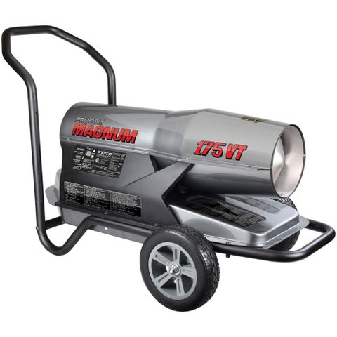 ProCom Kerosene Forced Air Heater - 125,00-175,000 BTU, Multifuel, Model# PCK175VT