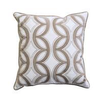 Furniture of America Nikka Trellis 20-inch Throw Pillows (Set of 2)