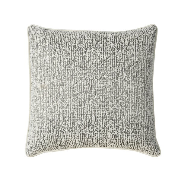 Furniture of America Kelley 20-inch Silver Textured Throw Pillow (set of 2)