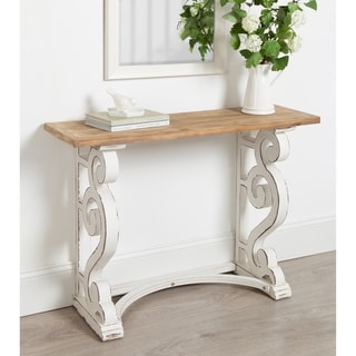 Link to Kate and Laurel Wyldwood Country French Solid Wood Console table Similar Items in Living Room Furniture