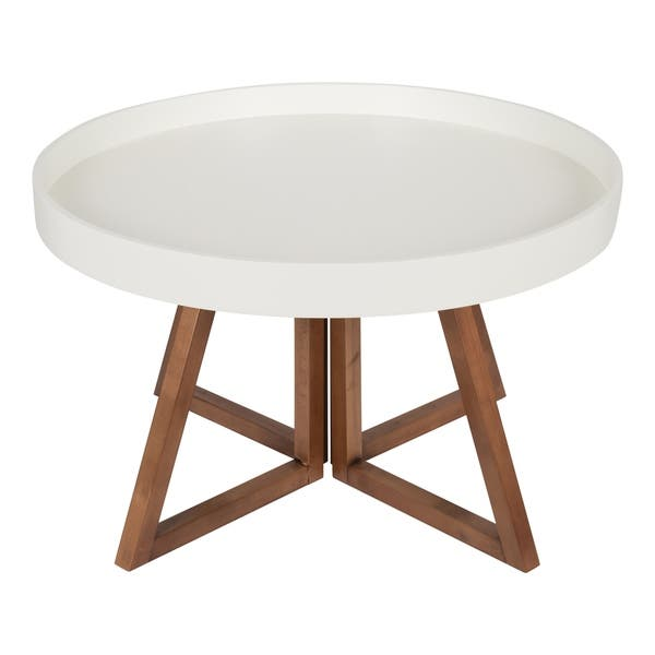 Kate And Laurel Avery 30 Inch Round Coffee Table