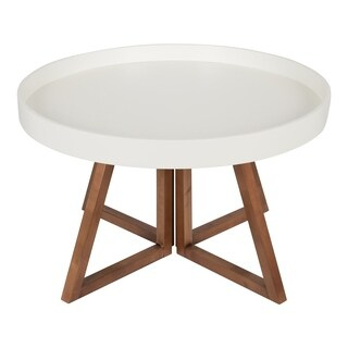 Kate and Laurel - Avery 30 Inch Round Coffee Table