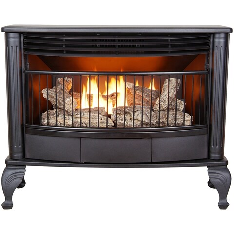 ProCom Ventless Dual Fuel Stove - 25,000 BTU, Model QNSD250RT