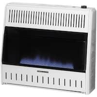 ProCom Dual Fuel Ventless Blue Flame Heater - 30,000 BTU, Model# MNSD300TBA