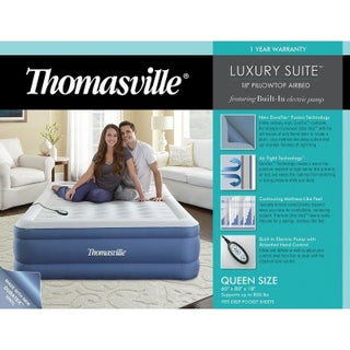 Thomasville Luxury Suite Queen Inflatable Air Mattress
