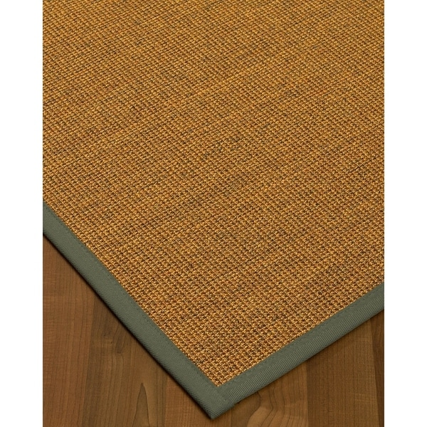 NaturalAreaRugs Sorrento Sisal Area Rug (4' by 6') Stone Border - 4' x 6'