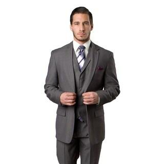 Men's Suit 3 Pieces Modern Fit Notch Lapel Two Button Suit