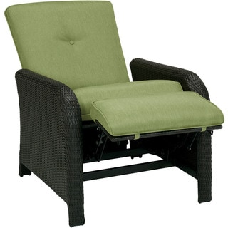 shop cambridge corolla luxury recliner in green free shipping rh overstock com outdoor patio furniture recliners outdoor recliner chairs nz