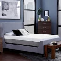 "Blissful Nights 12"" Copper Infused Cal King Memory Foam Mattress"