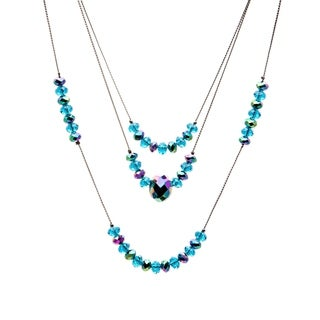 Alexa Starr Crystal 3-strand Illusion Necklace