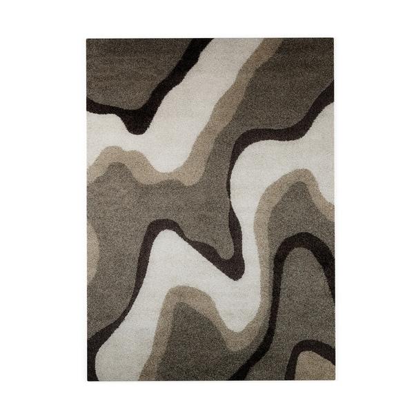 Palm Canyon Westlake Multicolor Shag Rug (7'7 x 10'6) - 7'7 x 10'6