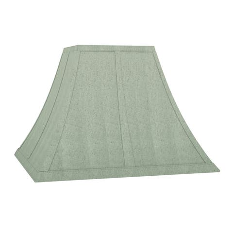 The Gray Barn Cimarron Sage Flared 15-inch Square Shade